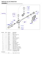 fleck 3900 control valve parts