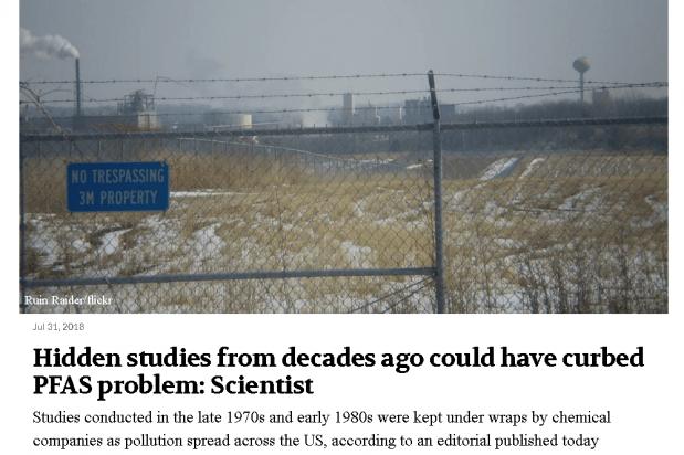 Grandjean said studies conducted up to four decades ago ...
