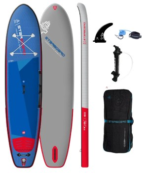 """tribord gonflable sup 11'2"""" x 31+"""" x 6"""" igo deluxe sc 2022 package"""