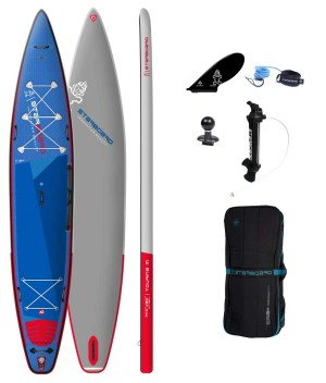 """tribord gonflable sup 14'0"""" x 30"""" x 6"""" touring m deluxe sc 2022 package"""
