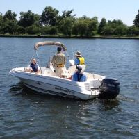 On-Water Boating Skills Courses