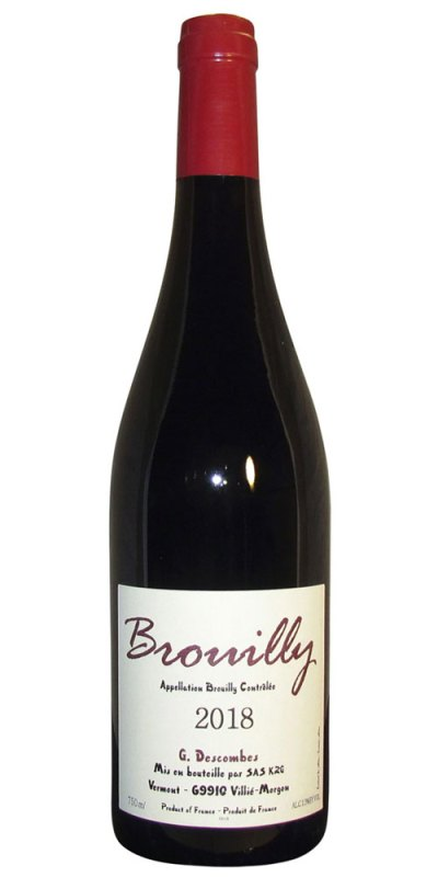 Georges Descombes Brouilly 2018