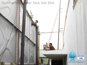 Water Tank Inspection