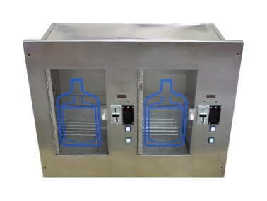 Dual Wall Mounted Water Vending Machine 5