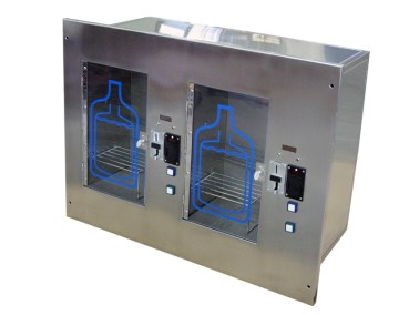 Dual Wall Mounted Water Vending Machine 1