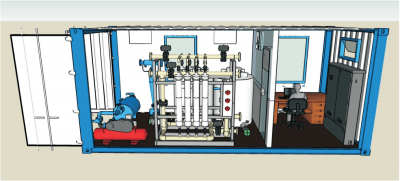 MOBILE WATER PRODUCTION PLANT