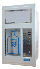 Wall Mounted Water Vending Machine MODEL: WVM-1500FG