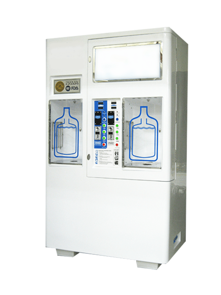 Dual Drinking Water Vending Machine