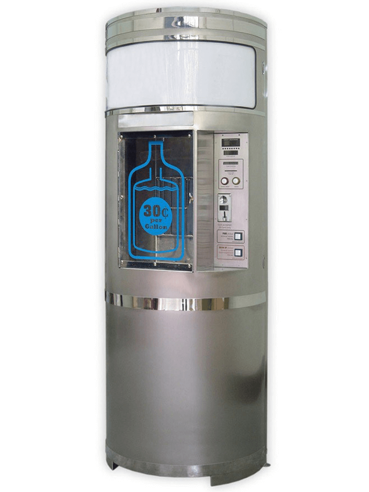 Stainless Steel Water Vending Machine MODEL: OSS-2200, OSS-9450