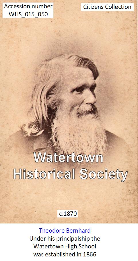 Wi Watertown Watertown School High