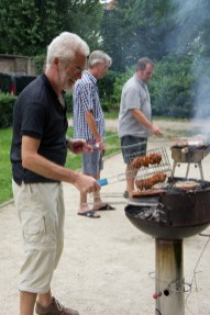 Barbecue in de wijk