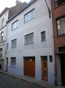 Baudelostraat 47-51. Foto: Dirk Boncquet, juni 2003.