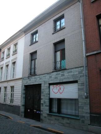 Baudelostraat 57. Foto: Dirk Boncquet, juni 2003.