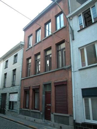 Baudelostraat 59-63. Foto: Dirk Boncquet, juni 2003.