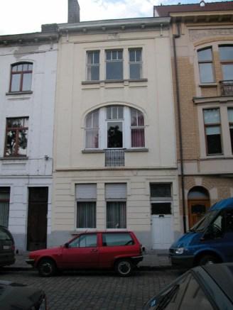 Baudelostraat 89. Foto: Dirk Boncquet, juni 2003.