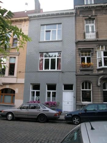 Baudelostraat 93. Foto: Dirk Boncquet, juni 2003.