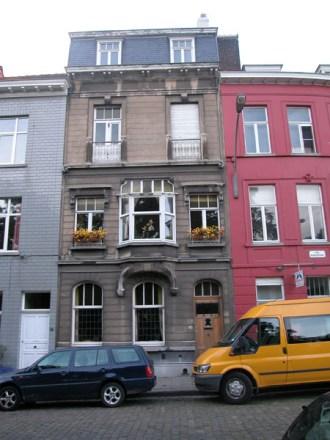 Baudelostraat 95. Foto: Dirk Boncquet, juni 2003.