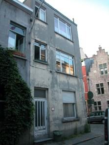 Gelukstraat 21-25. Foto: Dirk Boncquet, juni 2003.