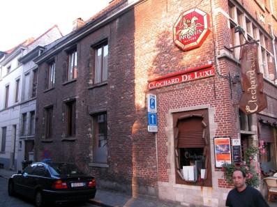 Ottogracht 18: zijgevel in Gelukstraat. Foto: Dirk Bonquet, juni 2003.
