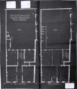 1912 - grondplan - bouwaanvraag SAG G12 nr. 1912 - O2. Beeld: Stadsarchief Gent, opname: 1995