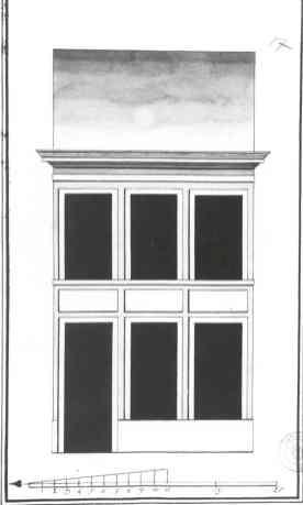 1785 - voorgevel vierde kwart achttiende eeuw - SAG 535/221-17 (1785). Beeld: Stadsarchief Gent, opname: 1995