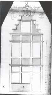 1720 - voorgevel - eerste kwart achttiende eeuw - SAG R535-217/6 (1720). Beeld: Stadsarchief Gent, opname: 1995