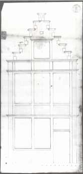 1723 - voorgevel - eerste kwart achttiende eeuw - SAG R535/217-71 (1723). Beeld: Stadsarchief Gent, opname: 1995