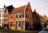 1999 - gevel - hoek met de Sint-Katelijnestraat. Beeld: Freddy De Clercq, opname: 1999