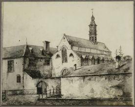 Aquarel Jean Baptist De Noter. Beeld: Dienst Monumentenzorg
