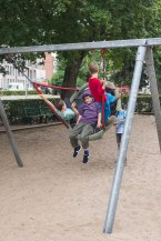Aperitief in het park