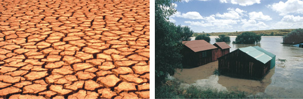 Drought and flood