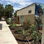 Water Wise Landscape Solutions, Beachside Montessori School teaching garden solar hookup setup