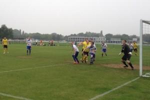 More goalmouth action