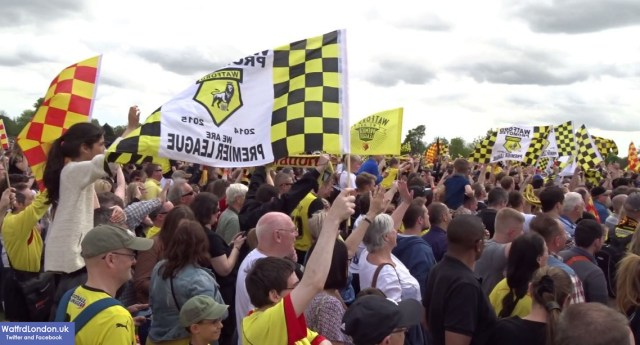 20,000 people had joined the celebrations in Cassiobury park