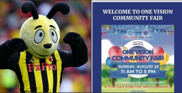 One Vision Hold Community Fair Bringing people together