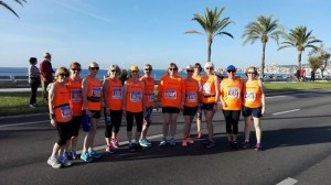 Watfod Running Sisters on Tour Palma 2016