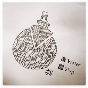 ship vs water