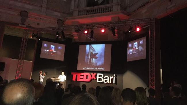 Matthew Watkins at TEDx Bari - We have magical powers