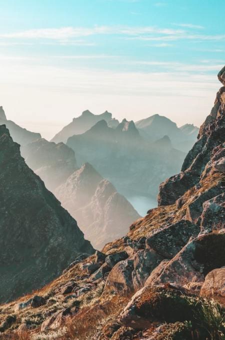 photo en randonnée - réussir photos randonnée - lignes de fuite photo