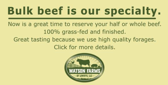 Watson Farms – Pastured Meats