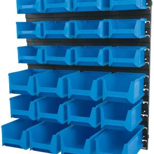 Draper 24 Bin Wall Storage Unit