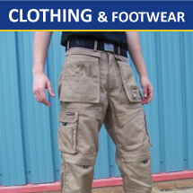 Clothing, Safety & Footwear