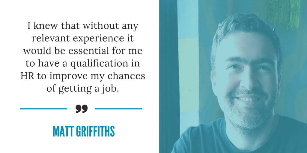 Getting CIPD qualified to achieve my career goals by Matt Griffiths