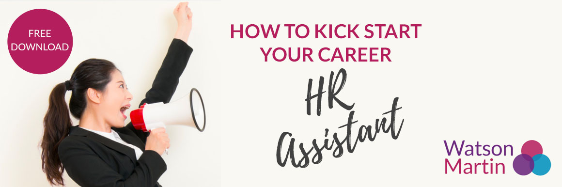 How to Kick Start Your Career in HR