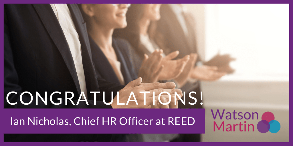 Ian Nicholas, Chief HR Officer with REED