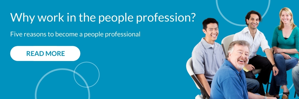 Why work in the people profession? 1160px x 386px