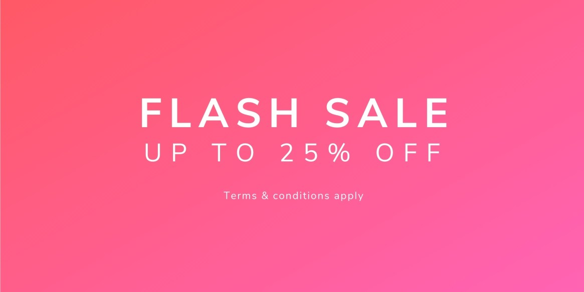 Flash Sale - Blog Header