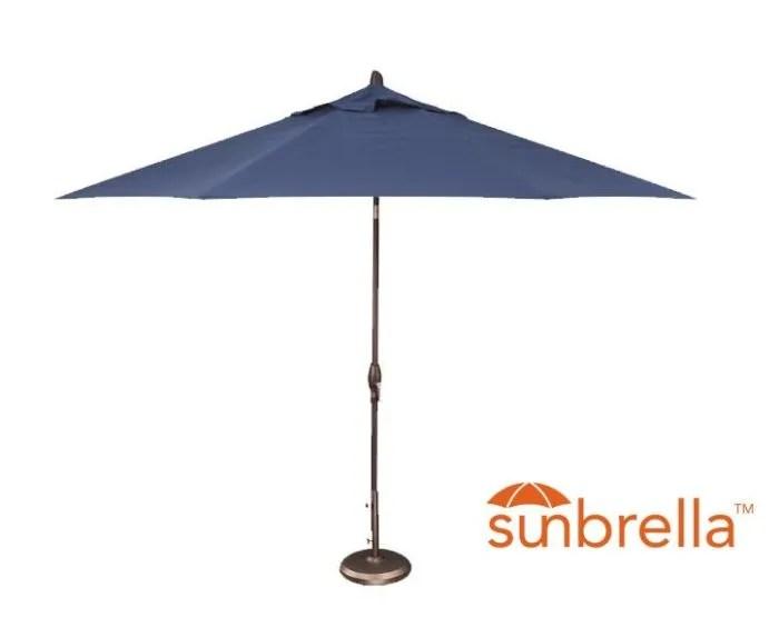 11 auto tilt patio umbrella indigo