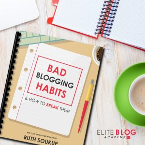 8 Bad Blogging Habits