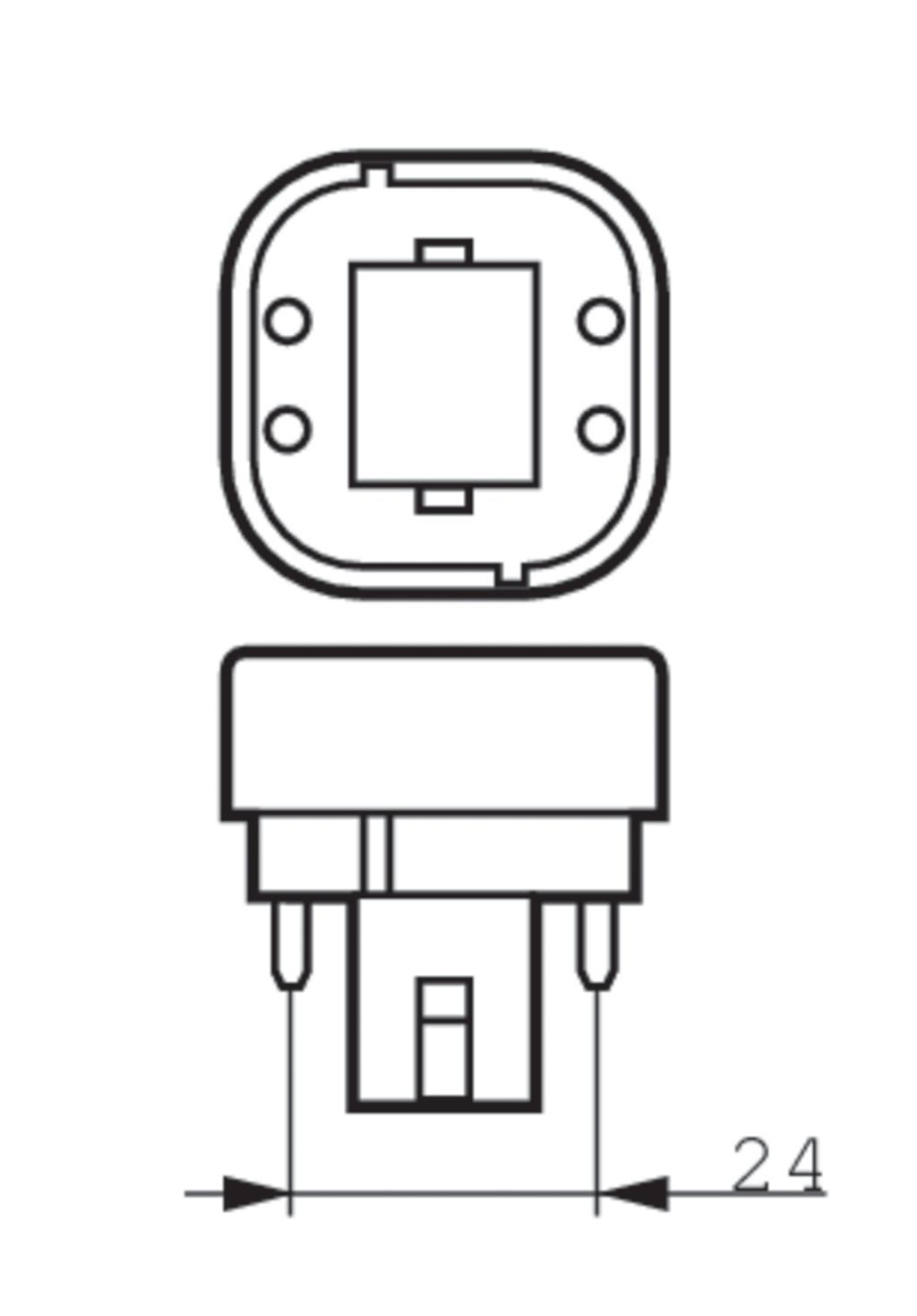 Philips Led Corepro Pl C 6 5w K Warmwei 600lm G24q 2